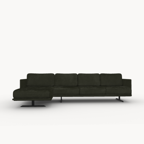 Design zitbank | Modulo sofa 3,5 zits arm right juke hunter156 | Studio HENK