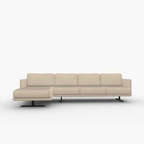 Modulo sofa chaise longue links facet beige1037 | Studio HENK | Listing_image