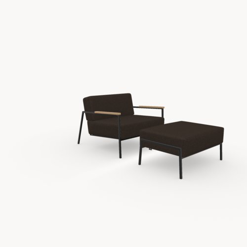 Design zitbank | Co lounge chair 1 seater hallingdal65 376 | Studio HENK