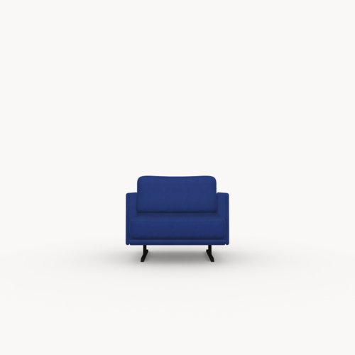Design zitbank | Modulo lounge chair 1 seater tonus4 210 | Studio HENK