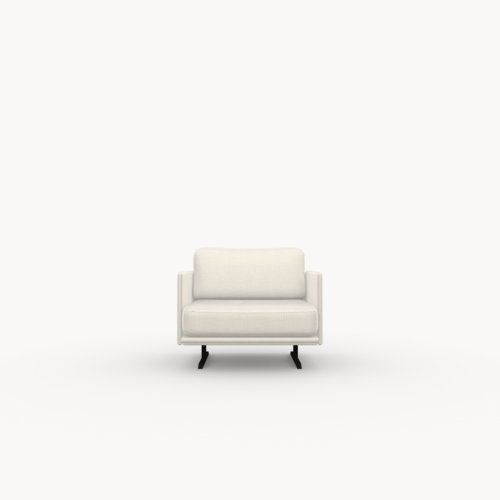 Design zitbank | Modulo lounge chair 1 seater calvados multibeige9995 | Studio HENK