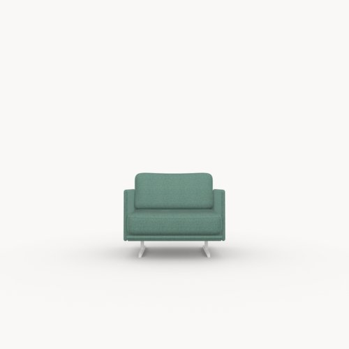 Modulo lounge chair 1 zits facet mint50 | Studio HENK | Listing_image