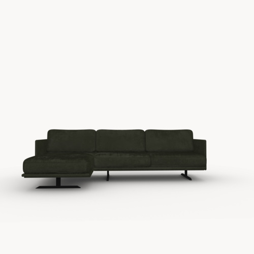Design zitbank | Modulo sofa 2,5 seater arm right juke hunter156 | Studio HENK