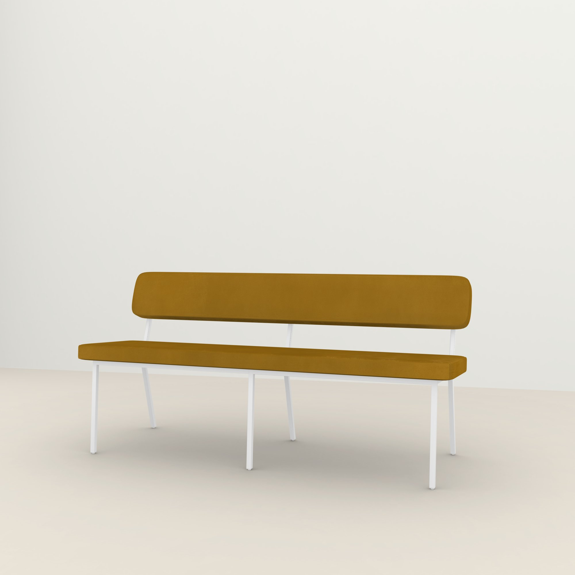 Design eetkamerstoel | Coode dining bench 160 royal gold132 | Studio HENK |