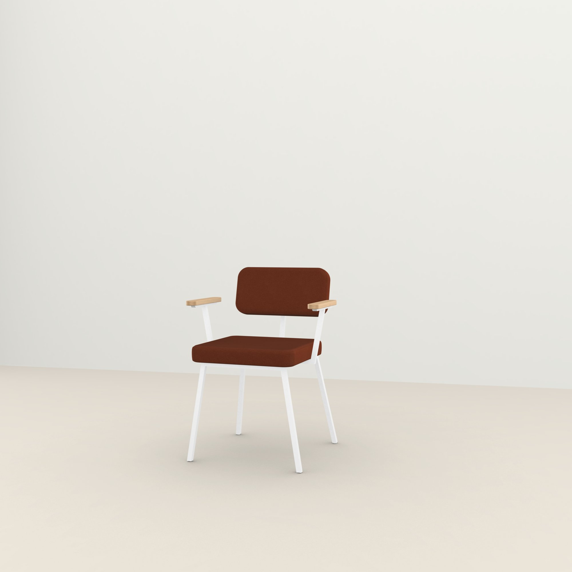 Design eetkamerstoel | Ode Chair with armrest tonus4 474 | Studio HENK |