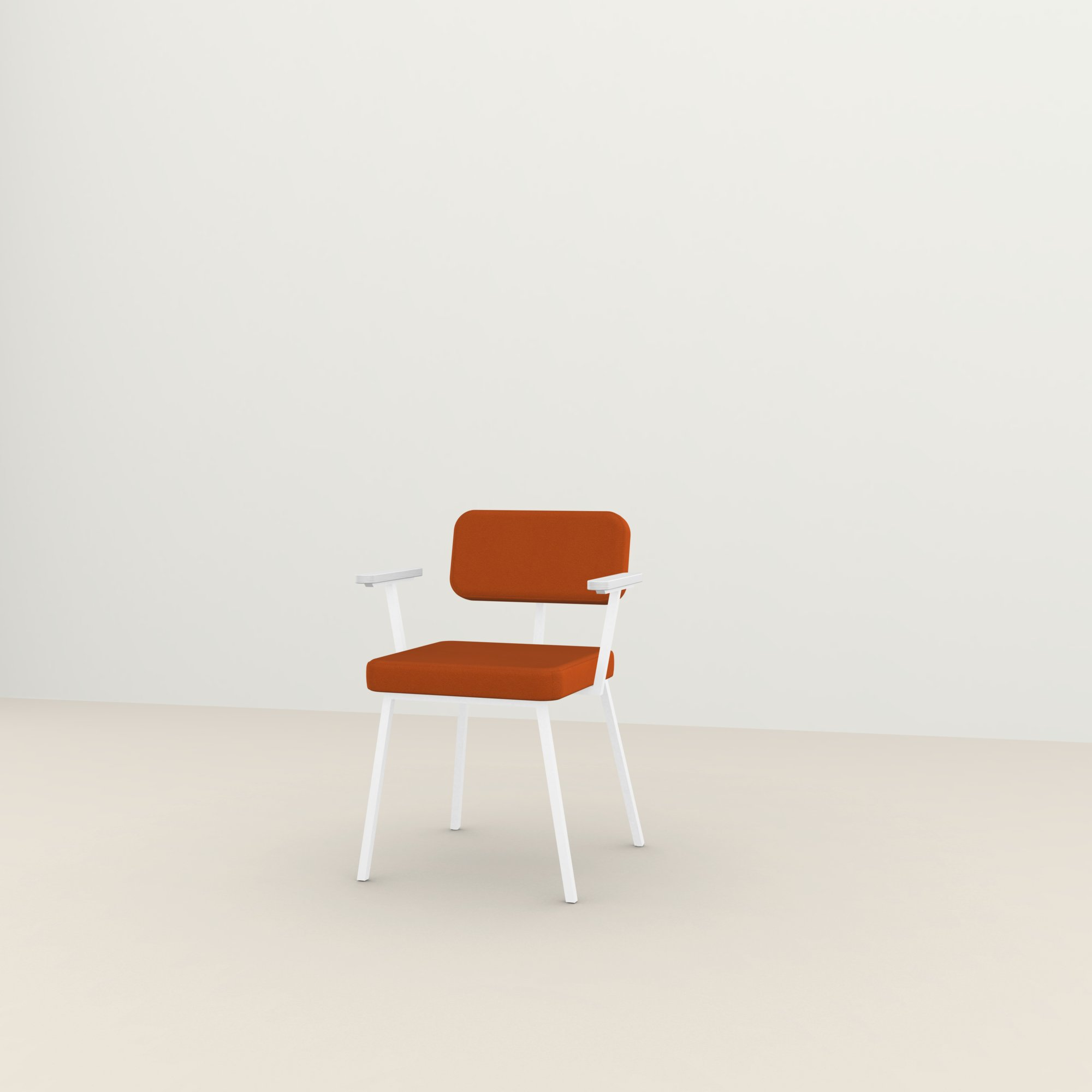 Design eetkamerstoel | Ode Chair with armrest tonus4 554 | Studio HENK |