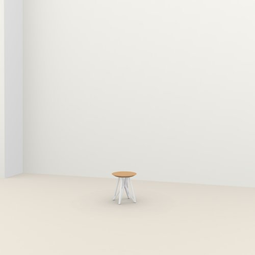 Design salontafel | Butterfly Quadpod Coffee Table wit | Eiken hardwax olie naturel light 3041 | Studio HENK | Listing_image