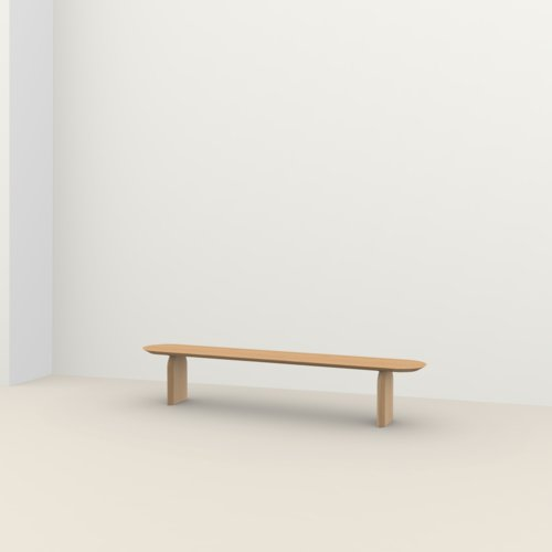 dining bench | Slot bench Oak hardwax oil natural light 3041 | Oak hardwax oil natural light 3041 | Studio HENK | Listing_image