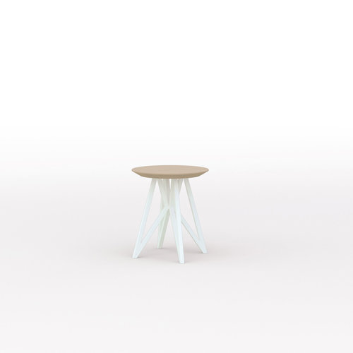 Design salontafel | Butterfly Quadpod Coffee Table wit | Eiken hardwax olie naturel light 3041| Studio HENK | Listing_image