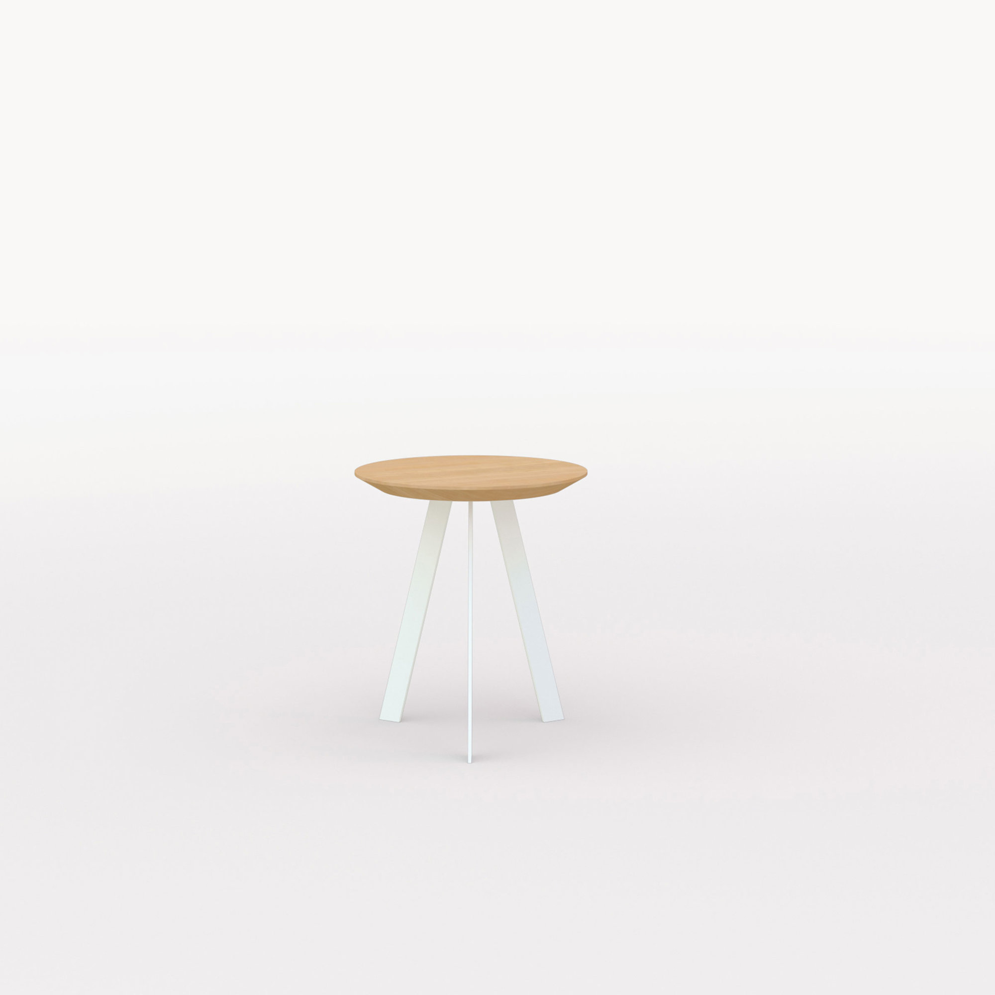 Design salontafel | New Co Coffee Table 40 Round White | Oak hardwax oil natural 3062 | Studio HENK | Listing_image