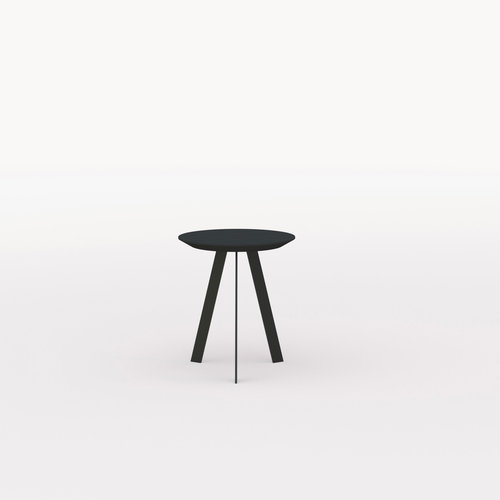 Design salontafel | New Co Coffee Table 40 Round Black | Oak black lacquer | Studio HENK | Listing_image