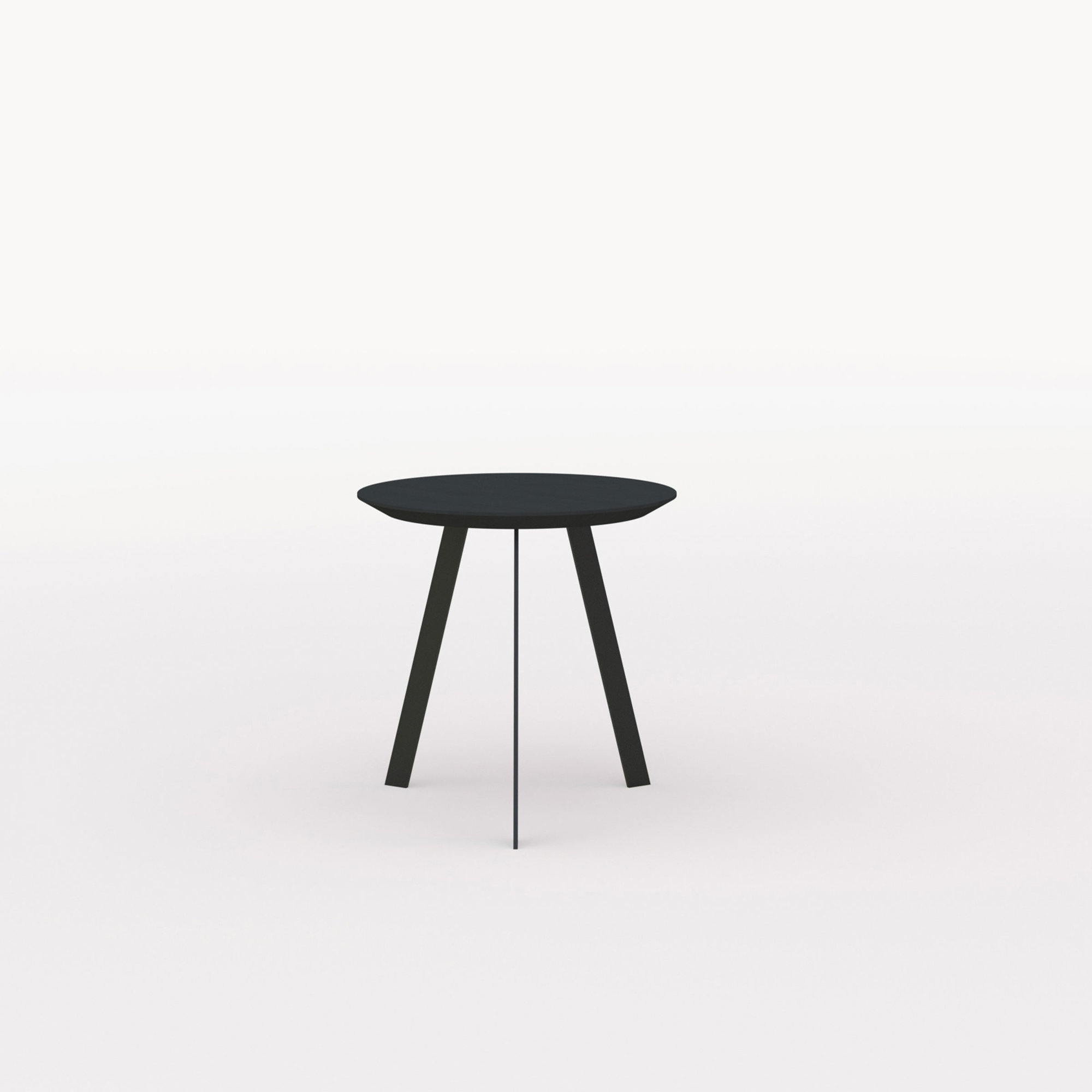 Design salontafel | New Co Coffee Table 50 Round Black | Oak black lacquer | Studio HENK | Listing_image