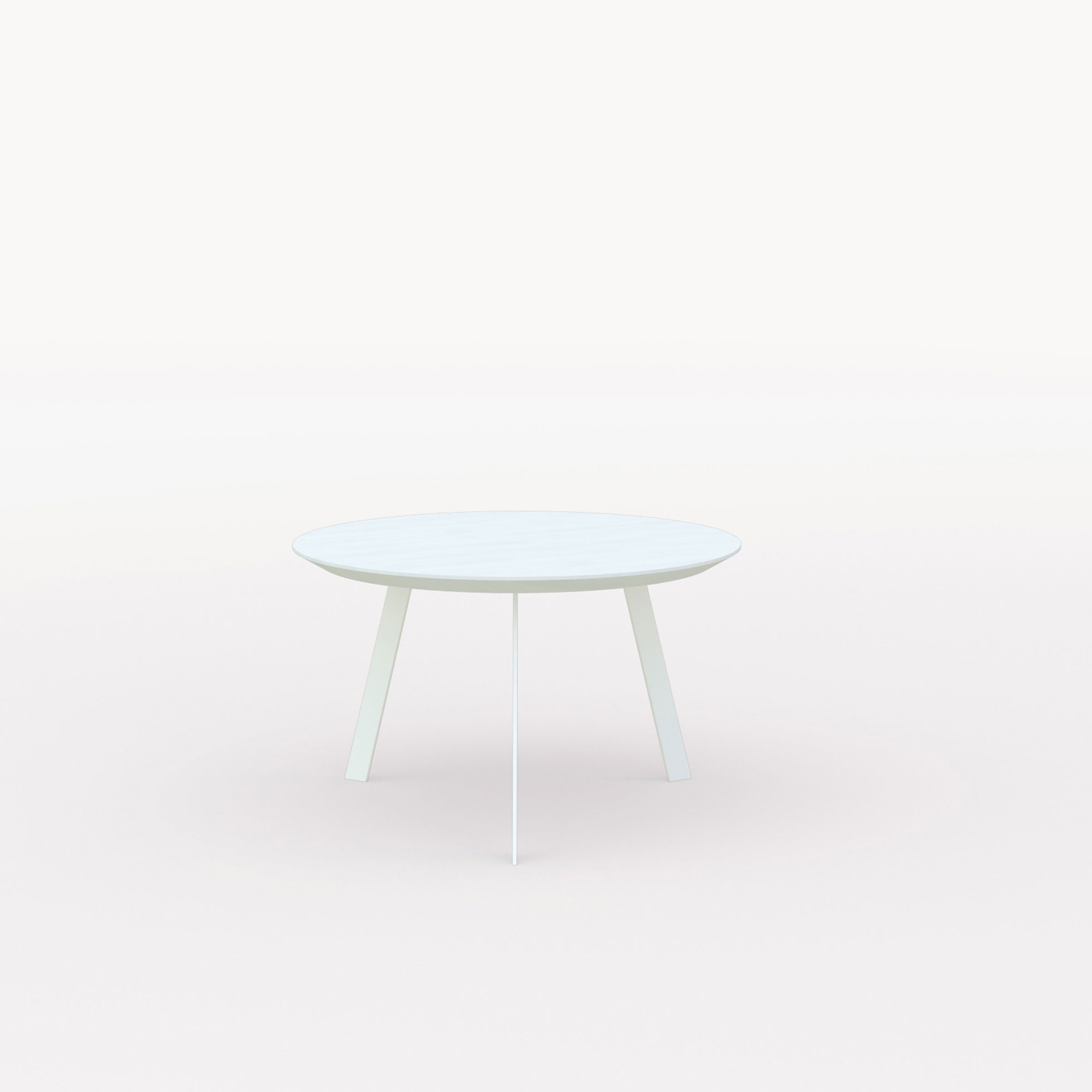 Design salontafel | New Co Coffee Table 70 Round White | Oak white lacquer | Studio HENK | Listing_image