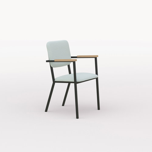 Design eetkamerstoel | Co Chair with armrest hallingdal65 110 | Studio HENK