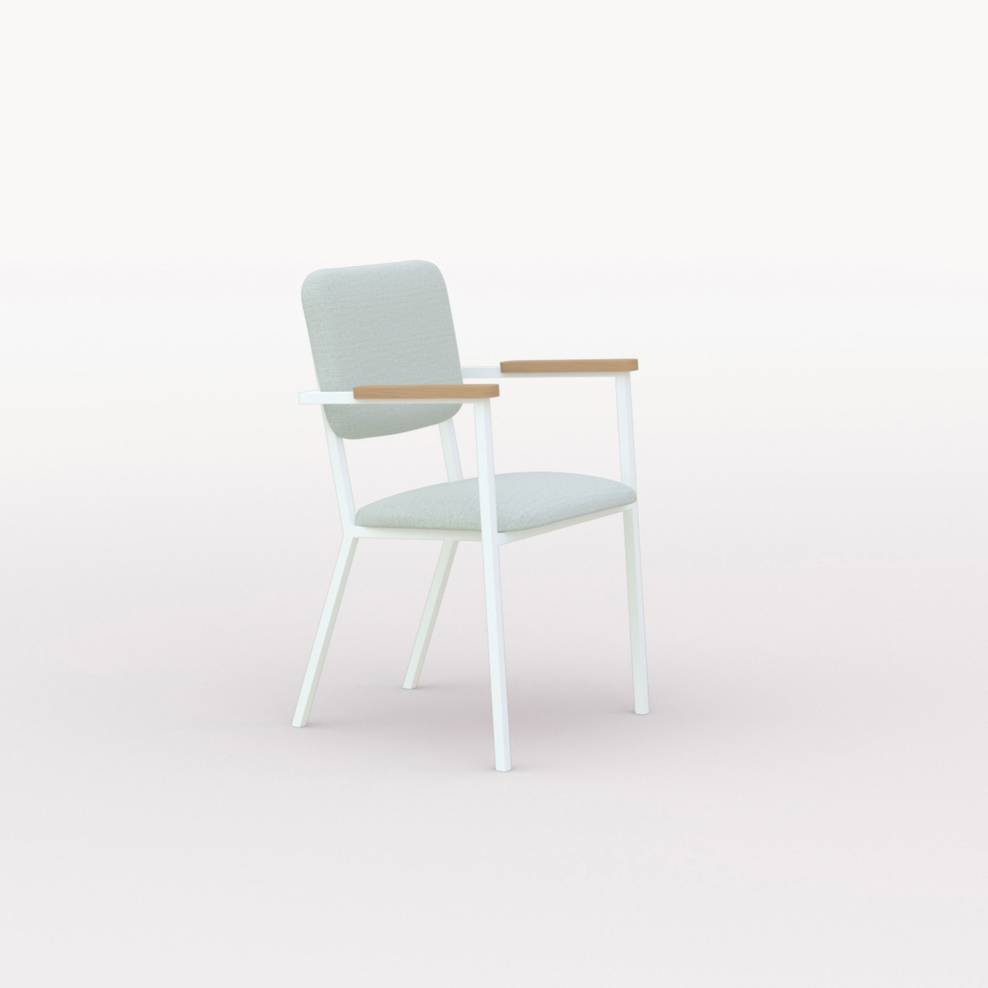 Design eetkamerstoel | Co Chair with armrest hallingdal65 110 | Studio HENK | Listing_image