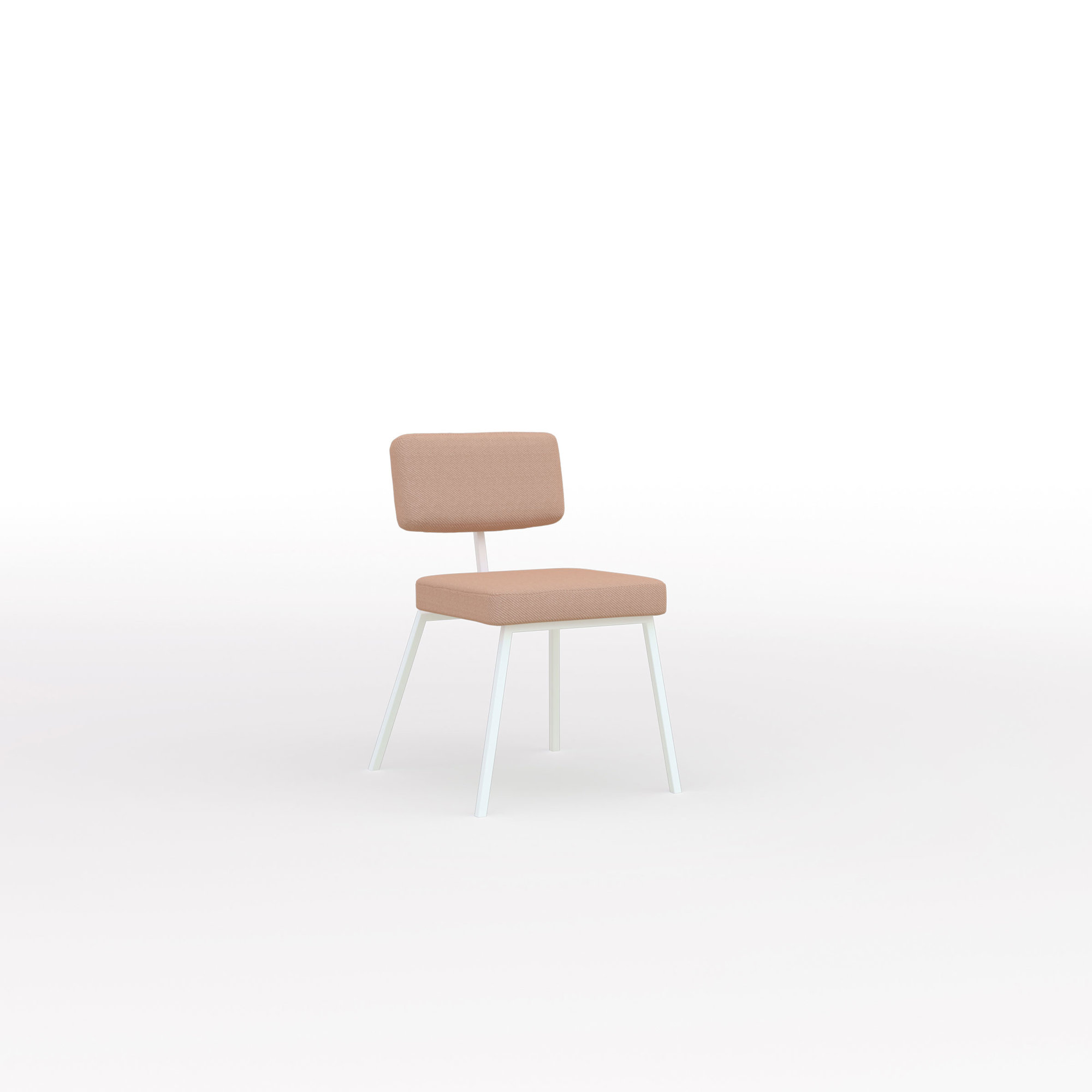 Design eetkamerstoel | Ode Chair without armrest steelcuttrio3 636 | Studio HENK | Listing_image
