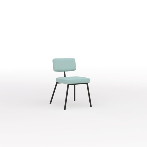 Design eetkamerstoel | Ode Chair without armrest twillweave 940 | Studio HENK