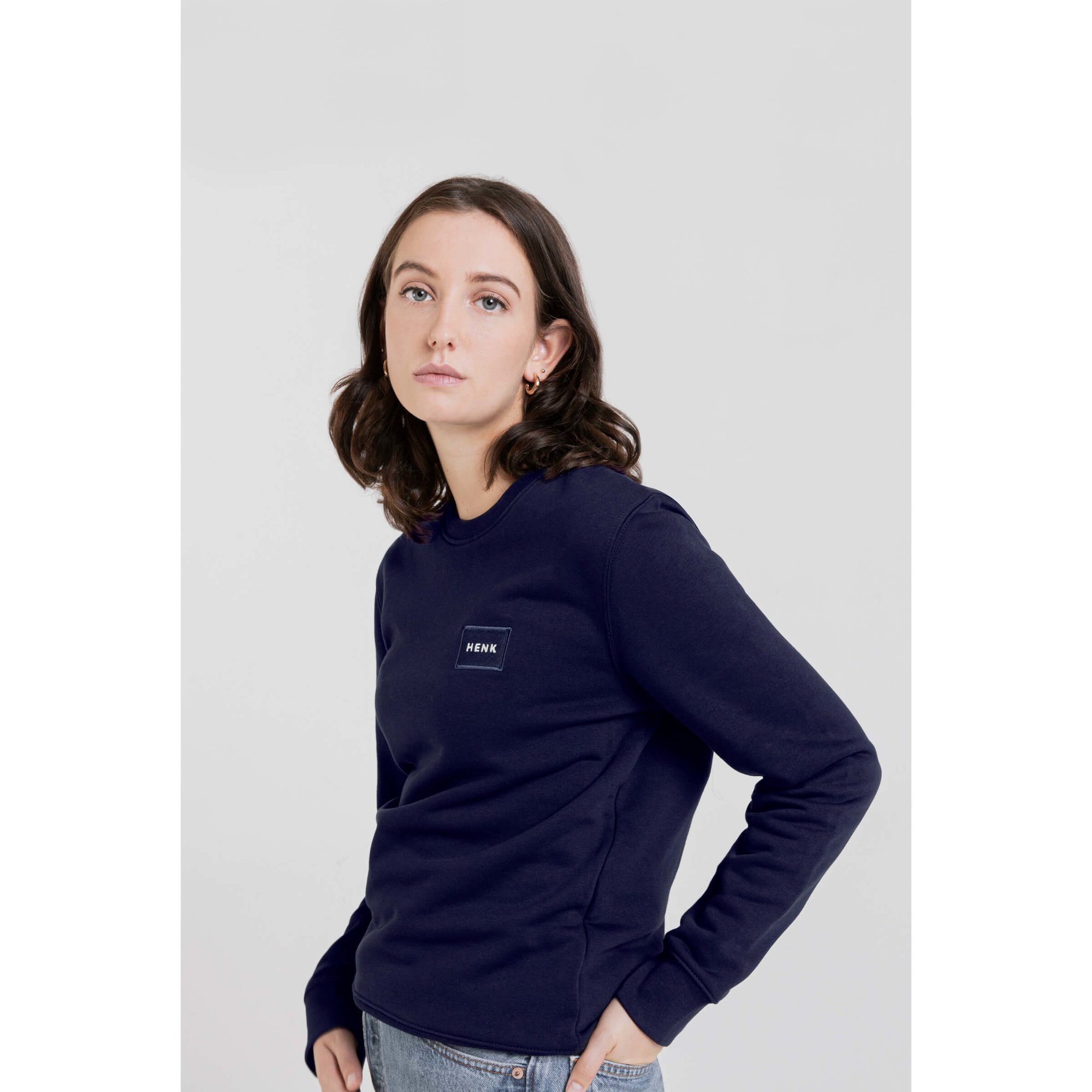 Sweater | Navy | Studio HENK | Setting5