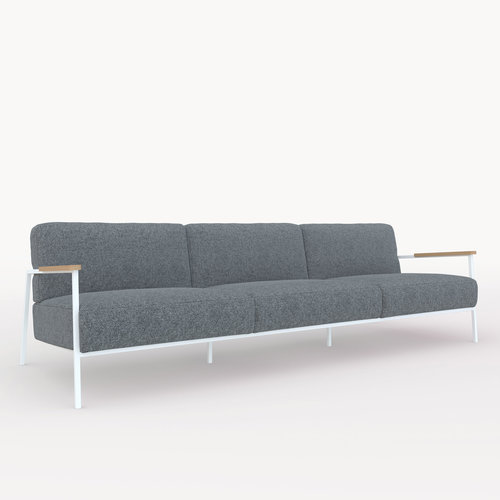 Design zitbank | Co lounge chair 3,5 seater hallingdal65 166 | Studio HENK | Listing_image