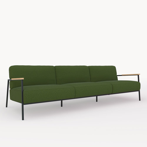 Design zitbank | Co lounge chair 3,5 seater hallingdal65 960 | Studio HENK | Listing_image