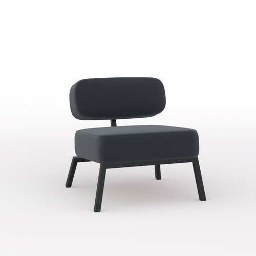 Design zitbank | Ode lounge chair 1 seater without armrest  hallingdal65 190 | Studio HENK