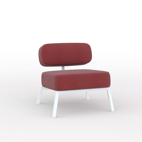 Design zitbank | Ode lounge chair 1 seater without armrest  tonica2 612 | Studio HENK
