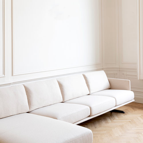 Design zitbank | Modulo sofa 3,5 zits arm right juke hunter156 | Studio HENK |