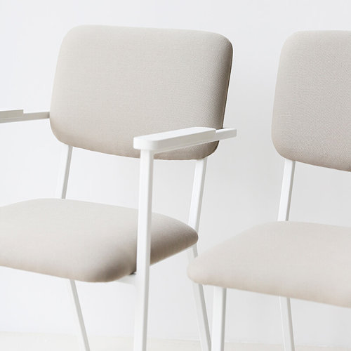 Design eetkamerstoel | Co Chair with armrest hallingdal65 457 | Studio HENK |
