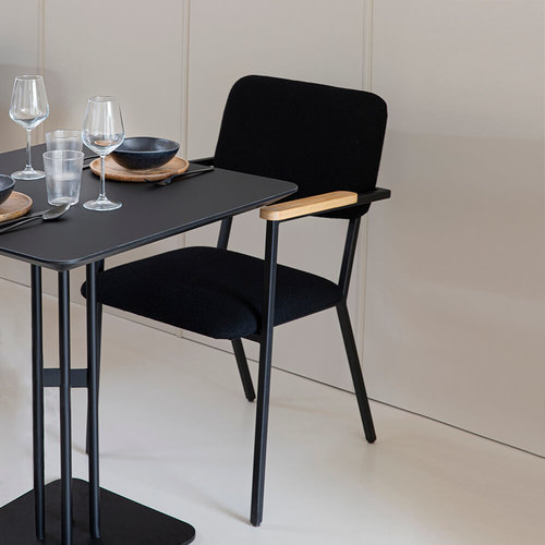 Design eetkamerstoel | Co Chair without armrest hallingdal65 190 | Studio HENK |