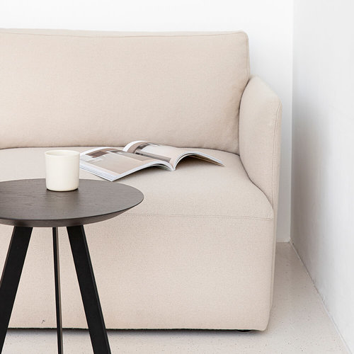 Design zitbank | Cube sofa 3,5 seater arm right royal almond82 | Studio HENK |